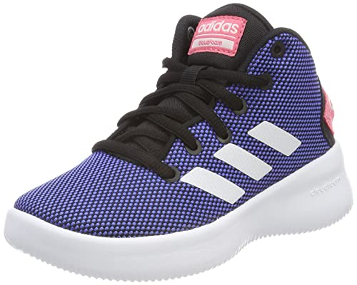 adidas CF Refresh Mid K, Chaussures de Fitness Mixte Adulte, Noir (Negbas/Amasol/Gritre 000), 39 1/3 EU
