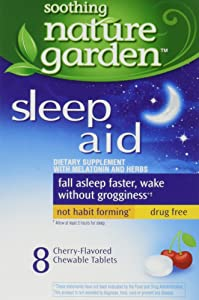 Soothing Nature Garden Sleep Remedy 8ct Chewable Tablets (5 Boxes) *Compare to MidNite* (5 Boxes)