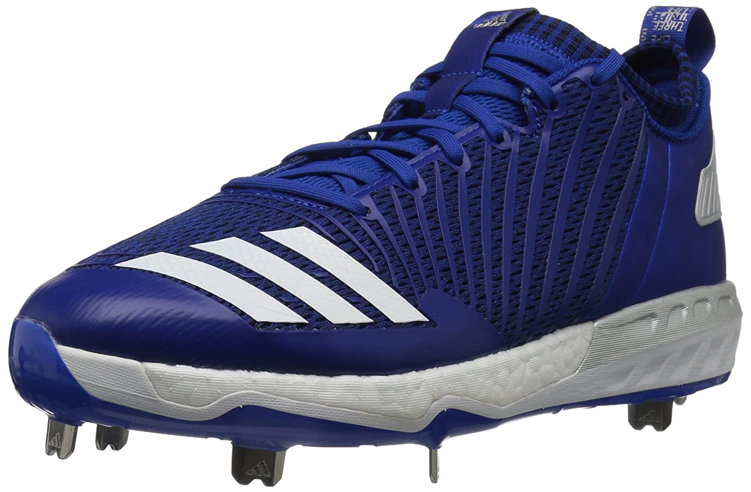 adidas Men's Freak X Carbon Mid Baseball Shoe B01MRZMN3M 7 D(M) US|Collegiate Royal/White/Metallic Silver