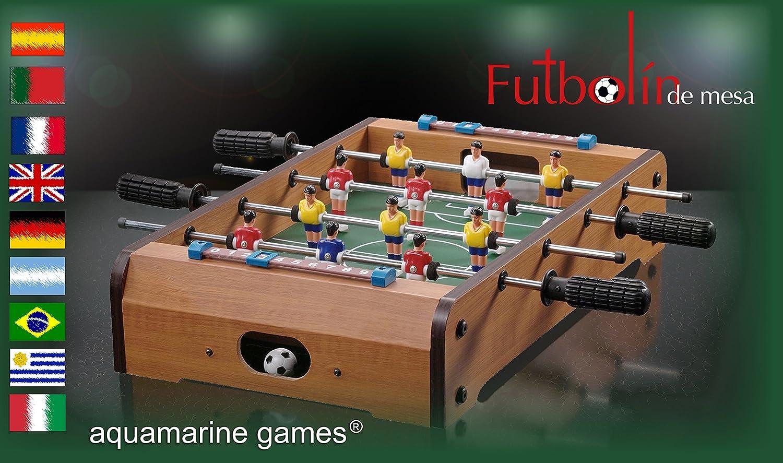 Aquamarine Games Futbolín de mesa Compudid CP