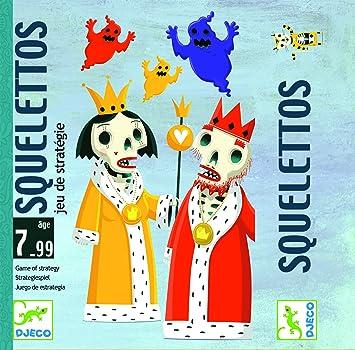 DJECO Juegos de cartasJuegos de cartasDJECOCartas Squelettos ...