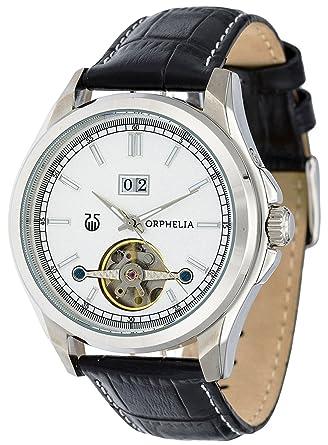 fournisseur officiel Braderie produits chauds Orphelia Montre Homme Automatique Analogique Royal Bracelet en Cuir  artificiel