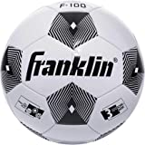 Franklin Sports Competition F-100 Soccer Ball - Available In Size 3, Size 4 and Size 5 - Youth and Adult Soccer Ball - Available As Individual Ball or Bulk (12) Deflated with Pump