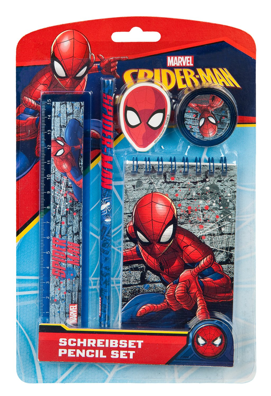 /Marvel Spiderman Set of 5 Undercover SPLO0211/Stationery Set/