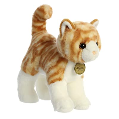 "Aurora - Miyoni - 10"" Orange Tabby Cat: Toys & Games"