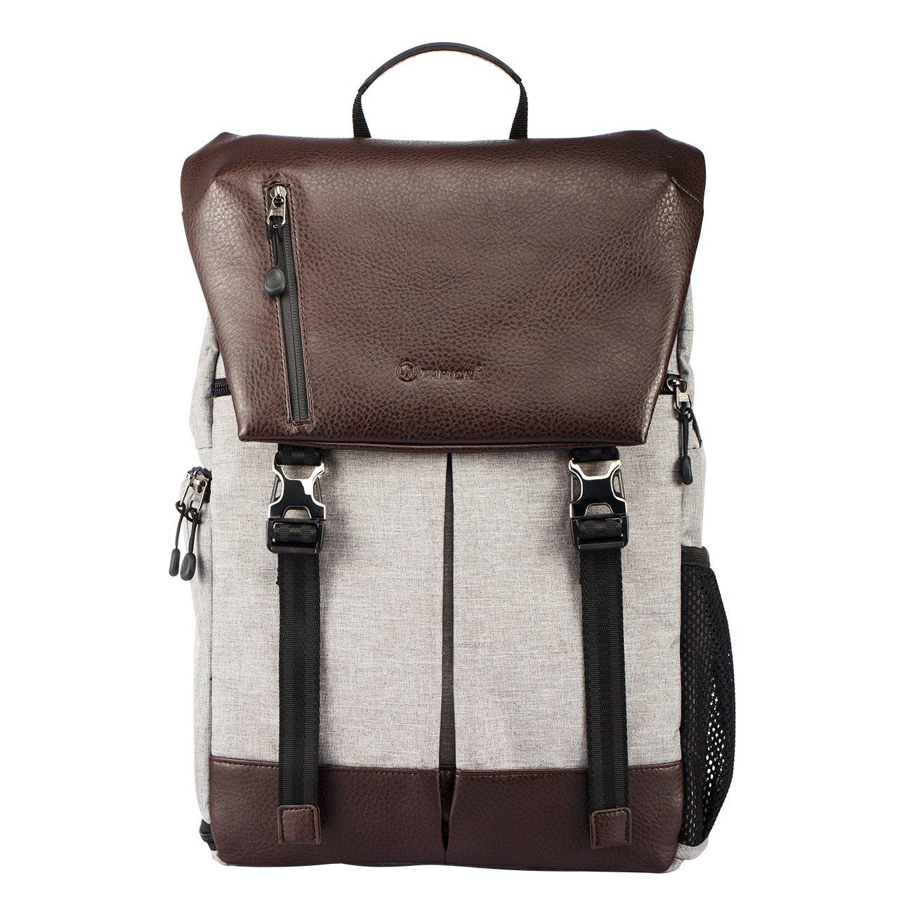 TARION RB-02 Kamerarucksack Reiserucksack Wasserabweisend SLR Rucksack mit Zubehörfächer für Kameras Zubehör und Outdoor Sport Reise 1010553