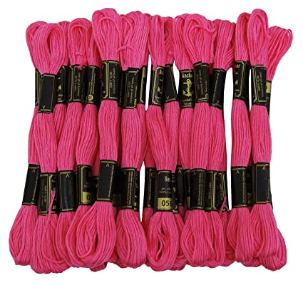 Amazon Anchor Threads Stranded Cotton Hand Embroidery Thread