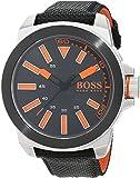 Hugo Boss Orange 1513116 Herren Armbanduhr, Quarz, analoges klassisches Zifferblatt, Kautschukarmband