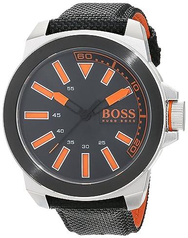 Hugo Boss Orange 1513116 - Reloj analógico de pulsera para hombre, correa de caucho: Hugo Boss Orange: Amazon.es: Relojes