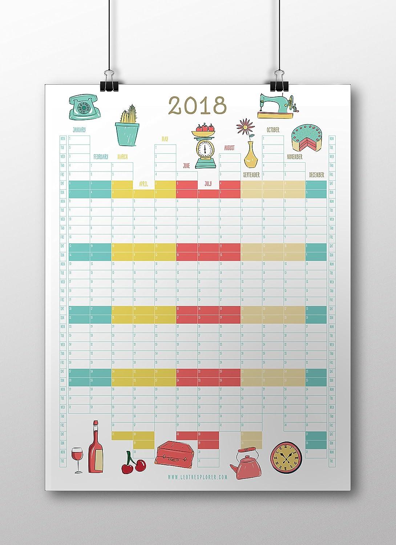 2018de cuisine Planner (A2portrait) Turtleneck Media