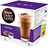 NESCAFÉ Dolce Gusto Mocha Coffee Pods, 16 Capsules (Pack of 3 - Total 48 Capsules, 24 Servings)