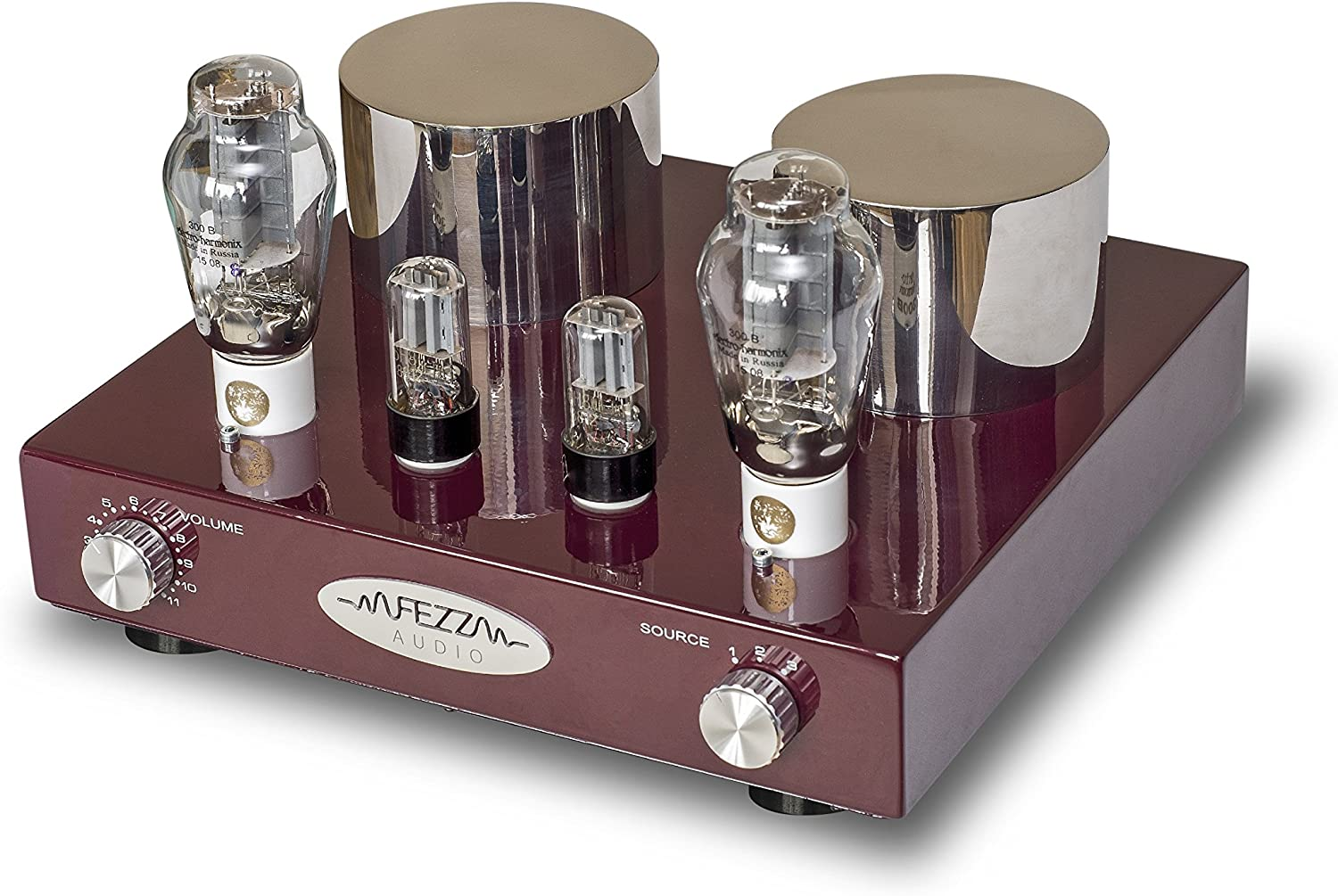 Fezz Audio Mira Ceti Valve Amplifier 2 Outputs 8w Amazon Co Uk