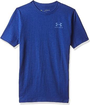 Under Armour Childrens EU Cotton Short Sleeve Short-Sleeve Shirt
