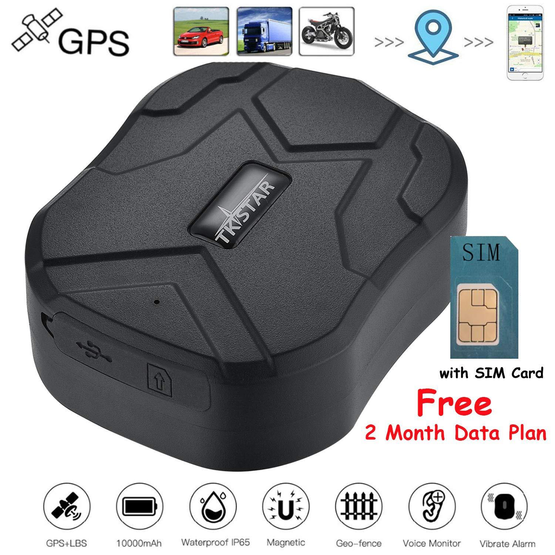 Rastreador GPS TKSTAR con Tarjeta SIM, 5 Meses en Espera ...