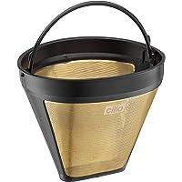 Cilio Premium–Reusable Mesh Coffee filtre–Eliminate need for Paper Filters–Altın Kaplama–farklı sizes