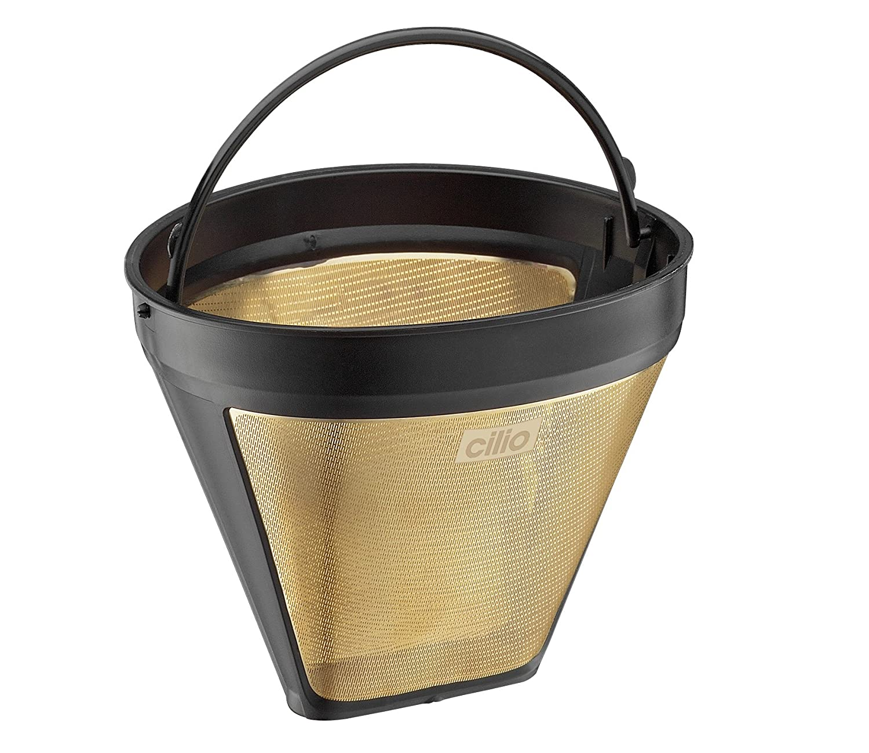 Cilio Premium Gold Coffee Filter Size 4