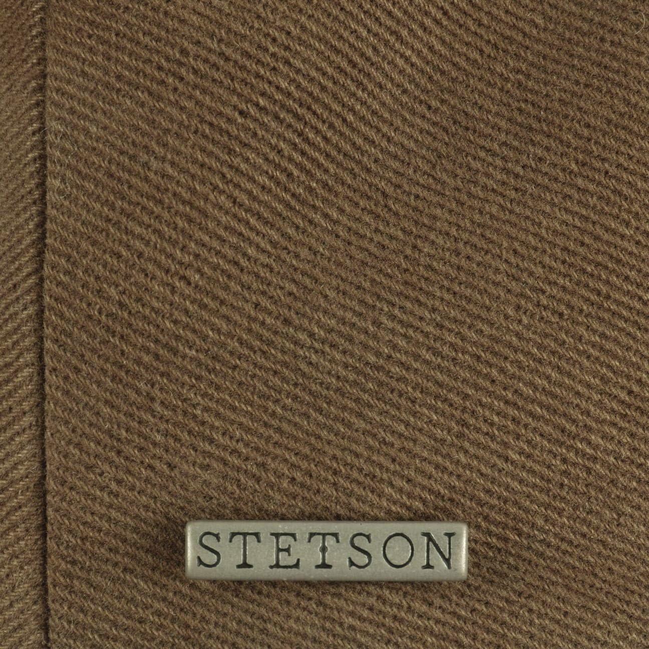 Stetson Kent Soft Cotton Flatcap Schirmm/ütze Schieberm/ütze Baumwollcap Herren Made in The EU mit Schirm Futter Herbst-Winter