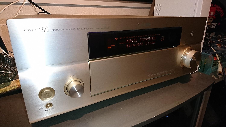 ヤマハ DSP-AX3900(N) DSP AVアンプ 7.1ch ゴールド B001KWD9DC