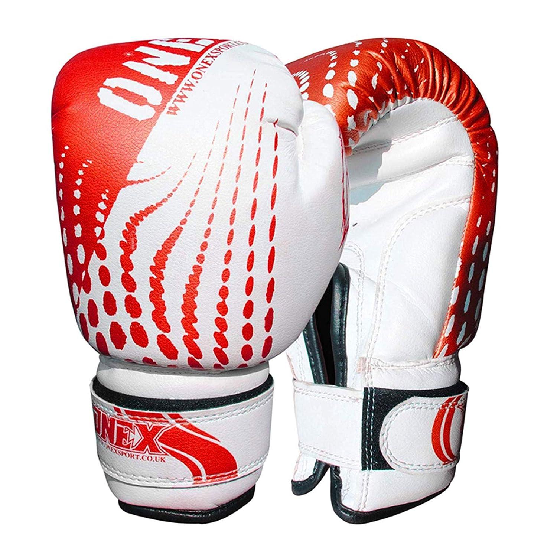ONEX Boxhandschuhe Fokus-Pads Set f/ür Jungen und M/ädchen Kinder Zwillinge Kickboxen Stanzen Berufstraining Haken und Jab MMA Punsch Thai Streik-Tasch