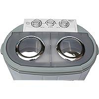Adler CR 8052 wasmachine Vrijstaand Bovenbelading Grijs, Wit 3 kg