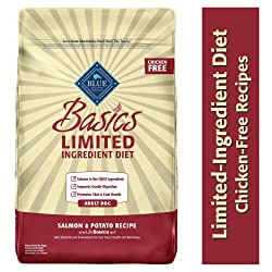 Natural Adult Dry Dog Food Basics Limited Ingredient Diet from Blue Buffalo