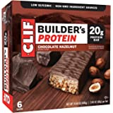 CLIF BUILDER'S - Protein Bar - Chocolate Hazelnut - (2.4 Ounce Bar, 6 Count)