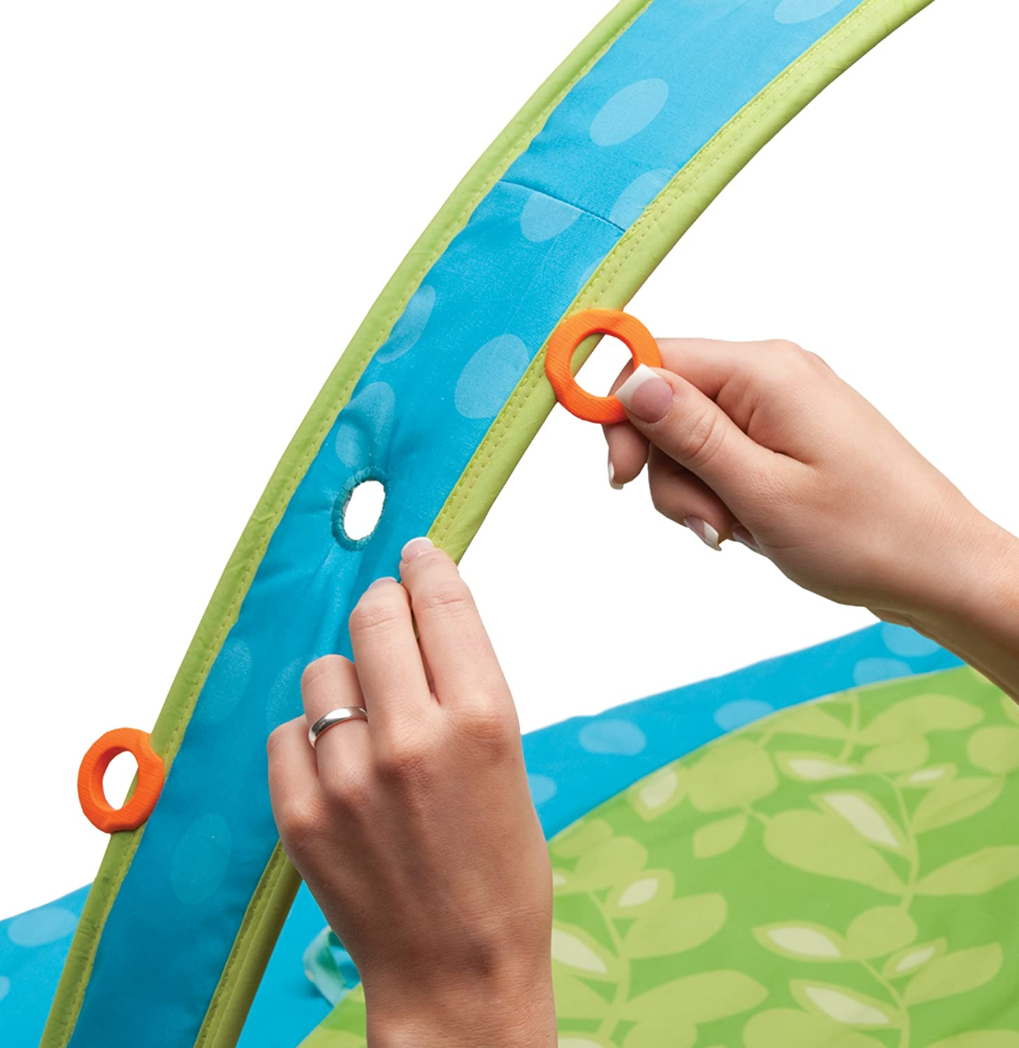 Amazon.com : Boppy EntertainMe Play Gym, Garden Patch (Discontinued By  Manufacturer) : Early Development Playmats : Baby