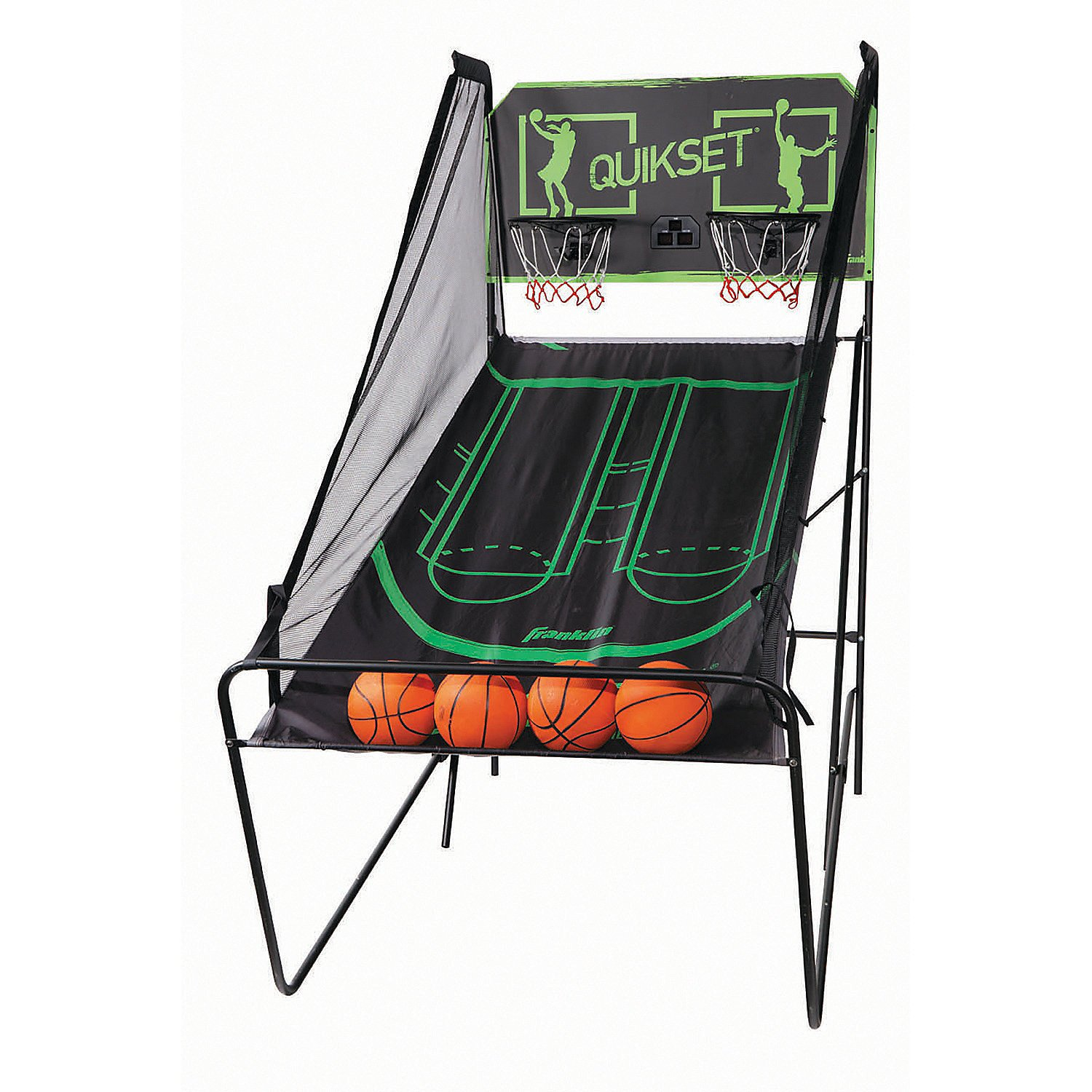 FOLDING ELECTRONIC BASKETBALL GAME