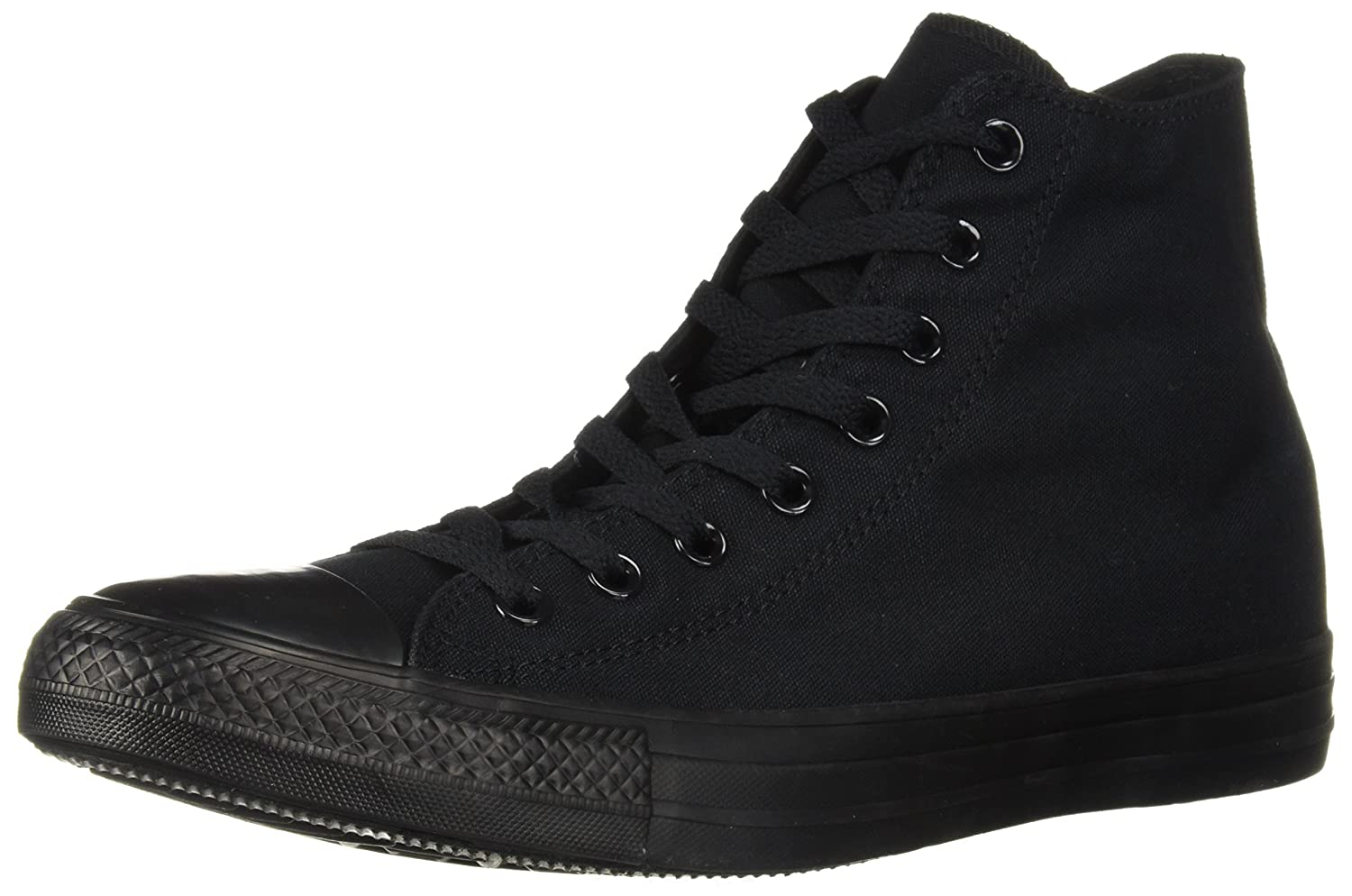 Converse AS Hi Can charcoal 1J793 Unisex-Erwachsene Sneaker  12 D(M) US|Schwarz (Black Monochrome)