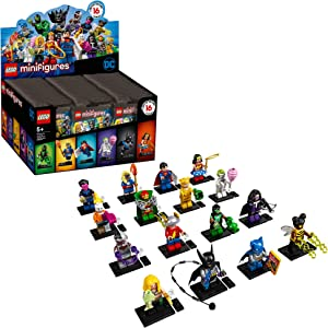 LEGO Minifigures DC Super Heroes Series 71026 Collectible Set, New 2020 (1 of 16 to Collect) Featuring Characters from DC Universe Comic Books