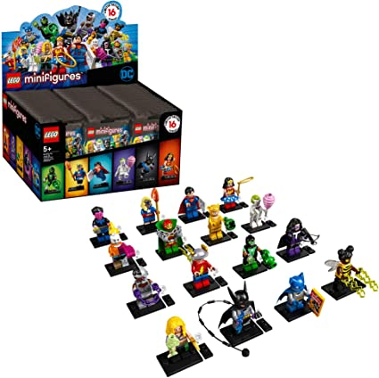 Amazon Com Lego Minifigures Dc Super Heroes Series 71026 Collectible Set New 2020 1 Of 16 To Collects Featuring Characters From Dc Universe Comic Books Toys Games
