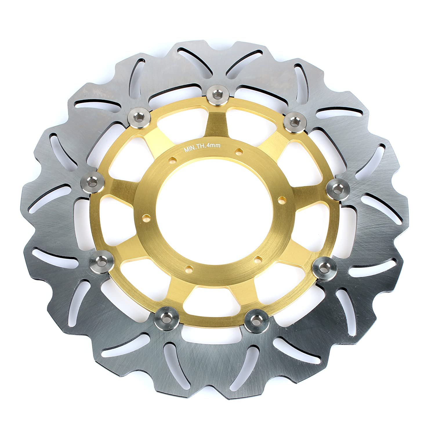 TARAZON 2x For CBR600F CBR600F4 CBR 600 F F4 1999 2000// CBR900RR CBR 900 RR 1992 1993// GL 1500 Valkyrie SC34 97-03// Gold Wing 1800 Front Brake Discs Disks