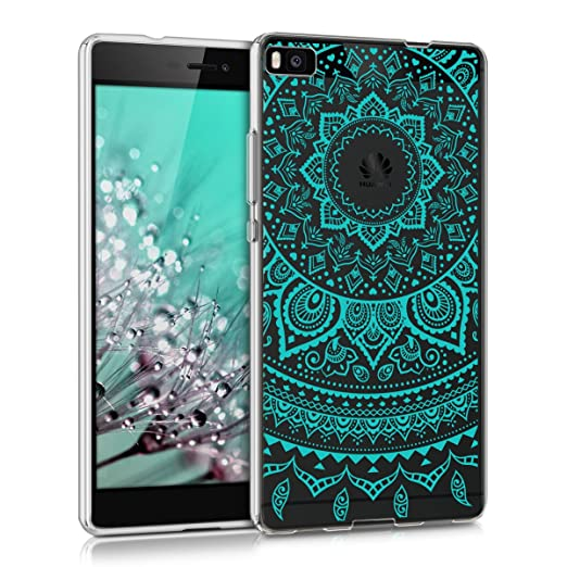 84 opinioni per kwmobile Cover per Huawei P8- Custodia in silicone TPU- Back case protezione