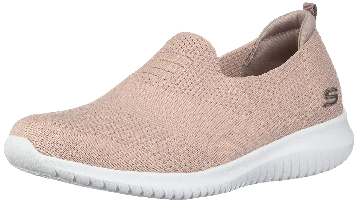 pink Skechers Women's Ultra Flex-Harmonious Sneakers