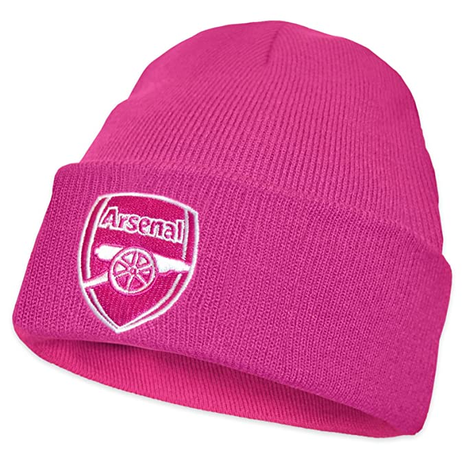 ee31ba1604aa9 Amazon.com  Arsenal FC Official Soccer Gift Ladies Knitted Bronx ...