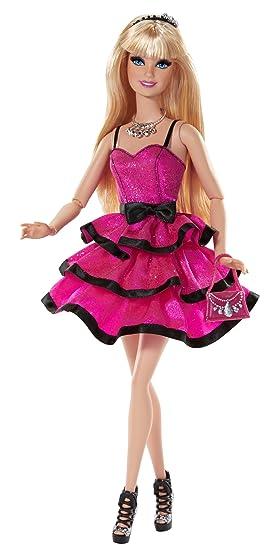Barbie Muneca Noche De Chicas Mattel Ccm07 Amazon Es Juguetes