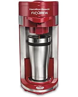 Amazon.com: Hamilton Beach 49962 Flex Brew single-serve ...
