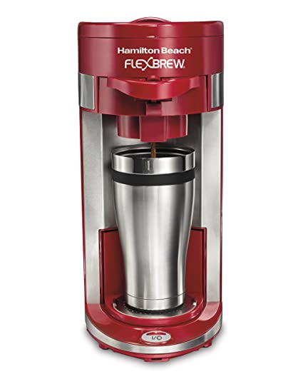 Amazoncom Hamilton Beach 49962 Flexbrew Single Serve Coffeemaker