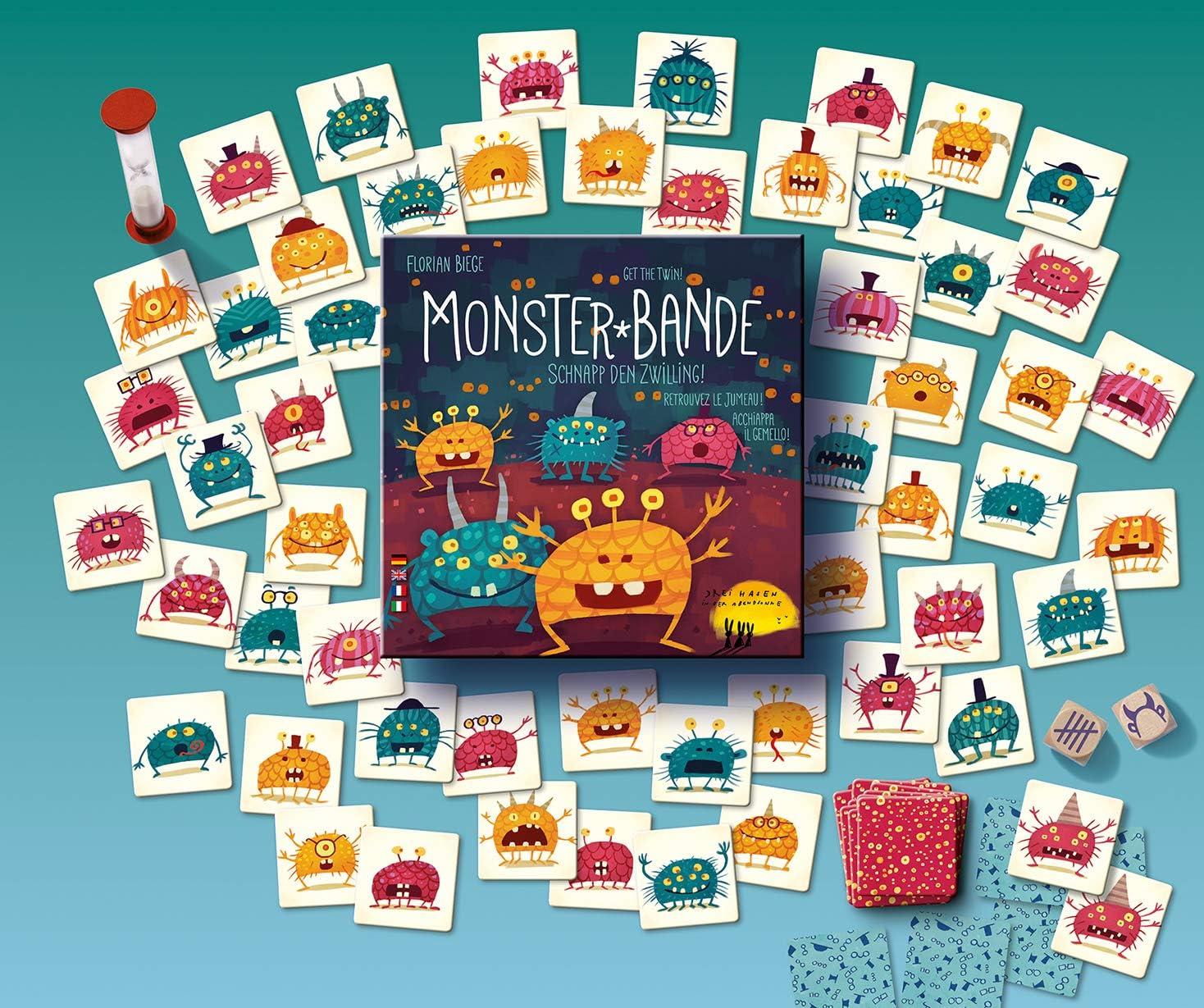 Monster-Bande: Schnapp den Zwilling!: Amazon.es: Juguetes y juegos