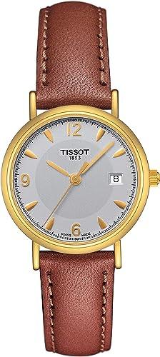 Tissot OROVILLE 18 KT T71.3.127.34 Reloj de Pulsera para mujeres: Amazon.es: Relojes