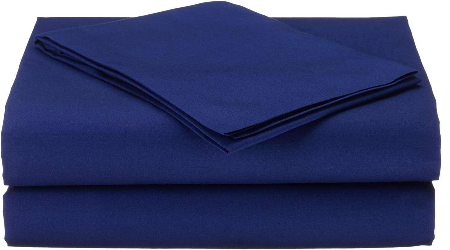 American Baby Company 100% Natural Cotton Percale Toddler Bedding Sheet Set, Blue, 3 Piece, Soft Breathable, Boys and Girls 1430