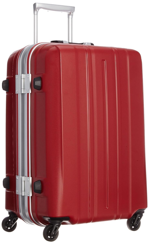 [サンコー] SUPER LIGHTS-MG EX スーツケース スーパーライト 軽量 中型 容量57L 縦サイズ62cm 重量3.5kg SMGE-57 B00JM221KYエンボスレッド