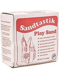 Sandtastik Sparkling White Play Sand, 25 Pounds - 25.-LB-BOX-REG