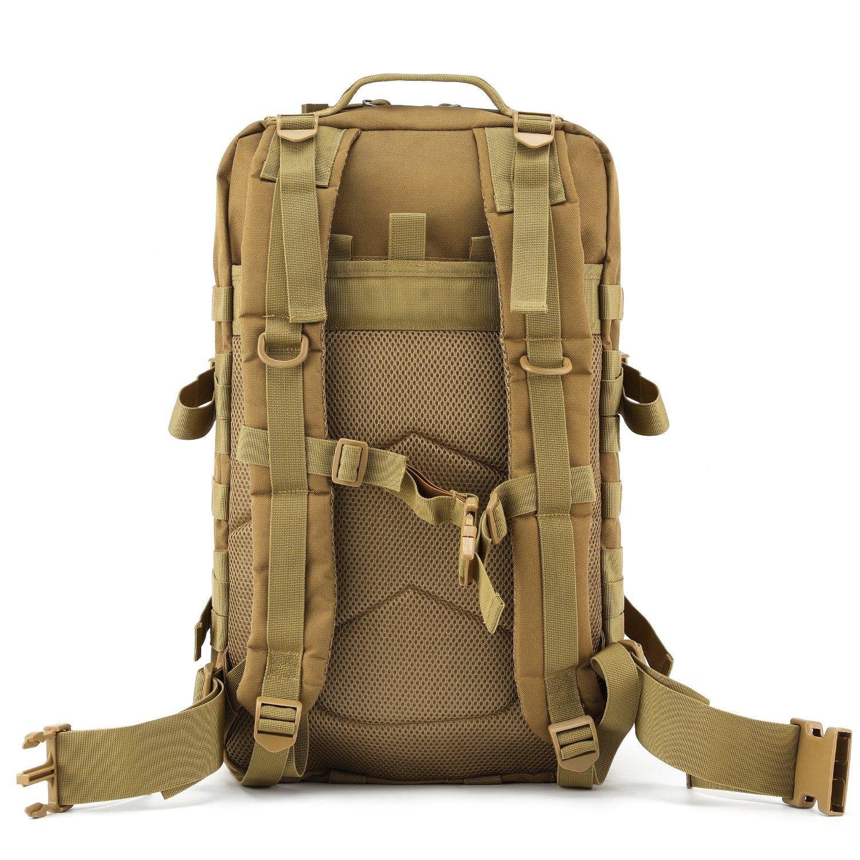 35L Sac /à dos Barbarian tactique Molle sac militaire ischer Assault Sac /à dos pour Outdoor randonn/ée Camping