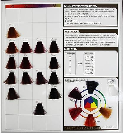 Nuevo Reino Unido freecia profesional Unisex permanente pelo color tinte de pelo brillante & Vivid