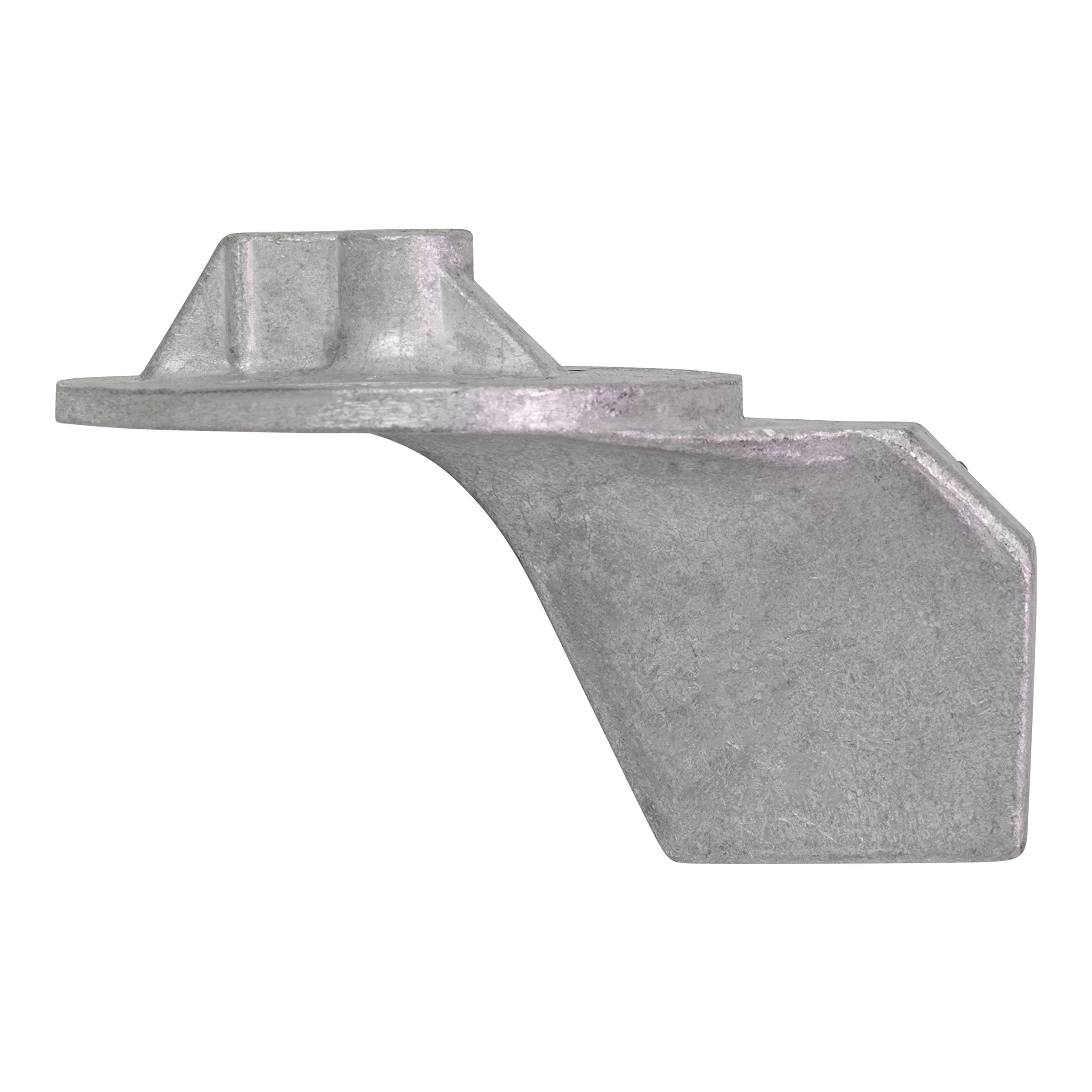 QuickSilver 822777Q1 Aluminum Trim Tab Anode - Mercury or Mariner Outboards and MerCruiser Stern Drives Using High Rake Propellers