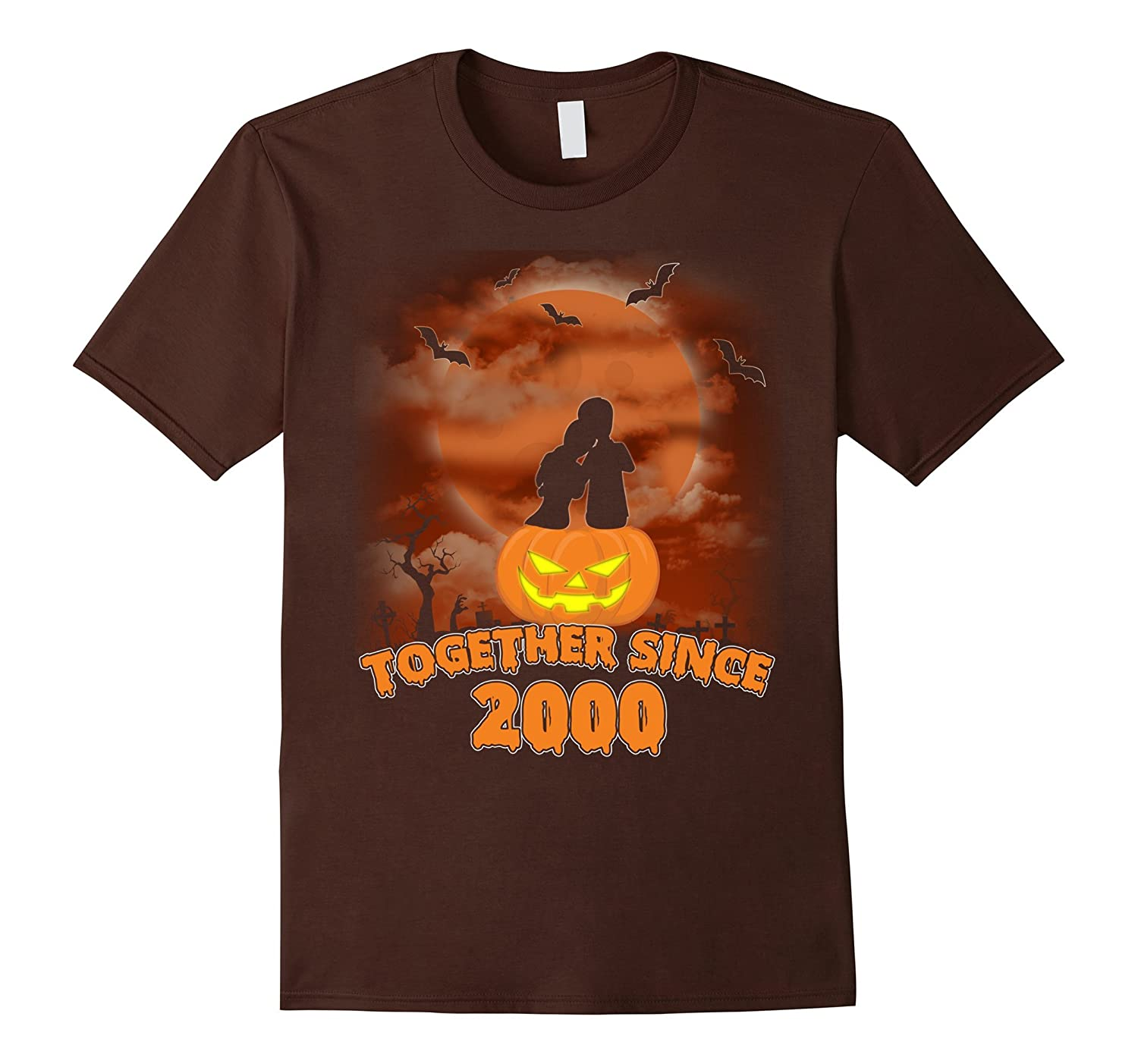 17th Anniversary Shirt For Husband Wife. Halloween Costume.-FL