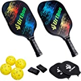 Urtboo Pickleball Paddles,Usapa Approved Graphite Pickleball Rackets,Pickleball Full Sets for Beginner