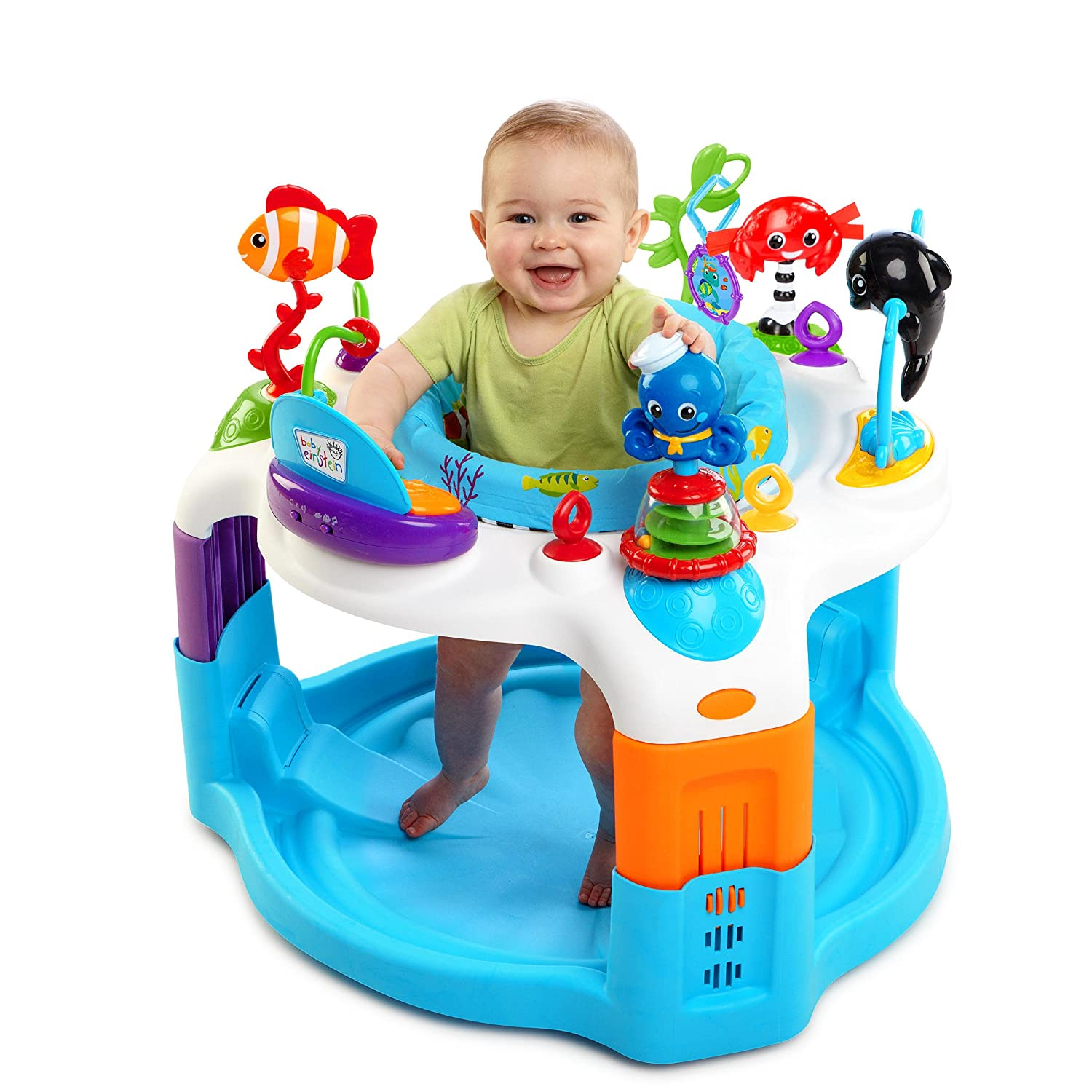 db1350471 Amazon.com   Baby Einstein Rhythm of The Reef Activity Saucer   Baby