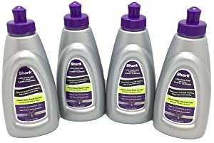 Shark Carpet Cleaner 8oz Concentrate No Rinse Low Moisture Solution for Sonic Duo, 4-Pack